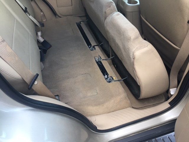 Case Study: Vehicle Mold Removal (after, clean car seats)