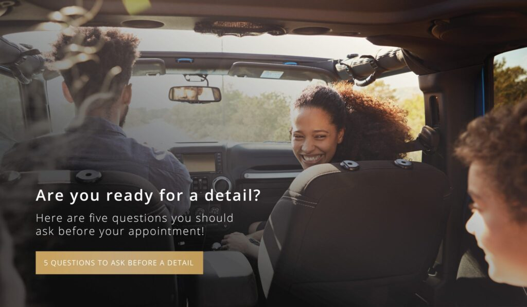 Ready for a detail? Call Premier today so you can hit the open road.