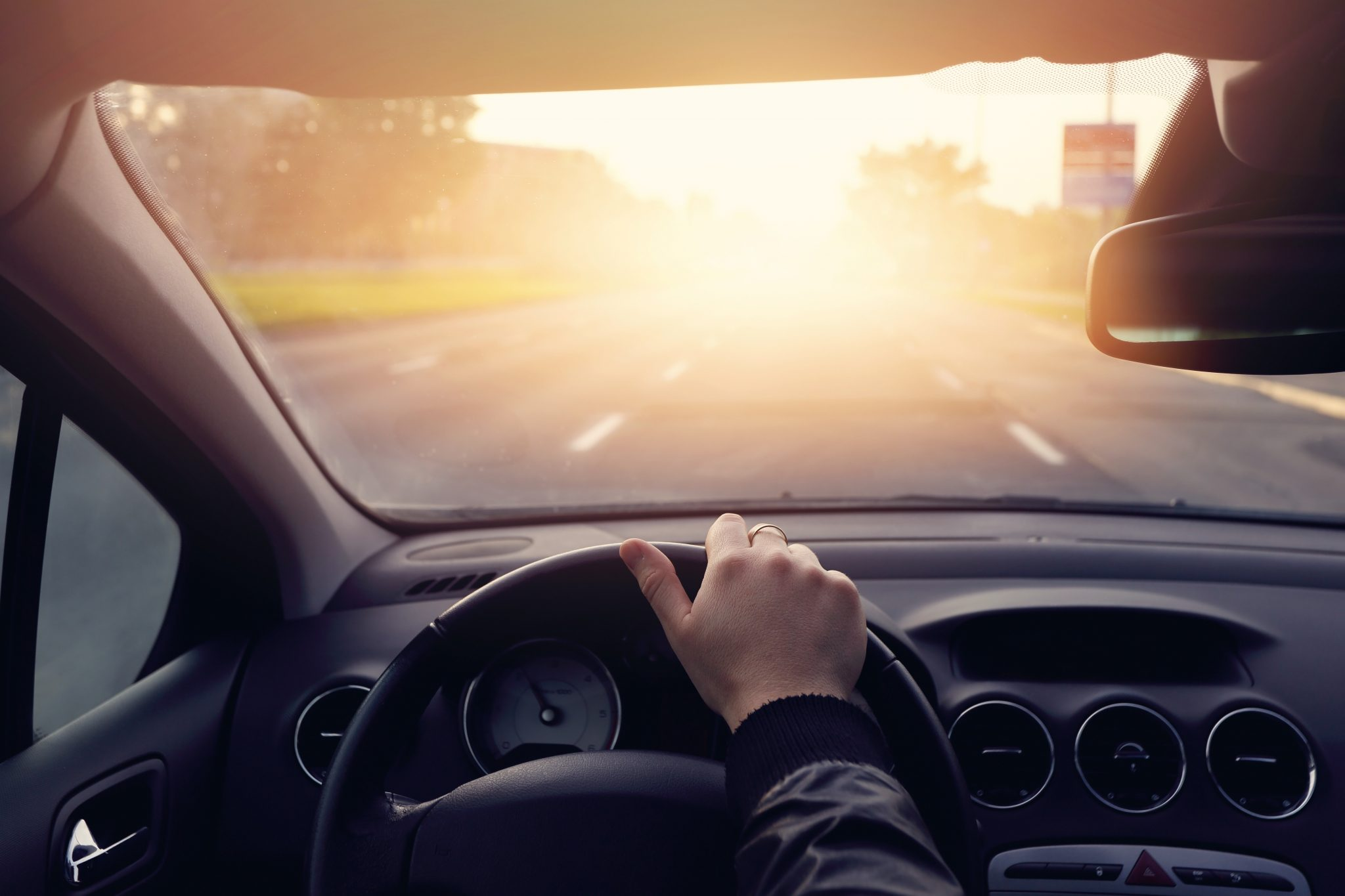 There are five benefits of window tints that protect you and your vehicle from sun damage, shattered glass, and more.