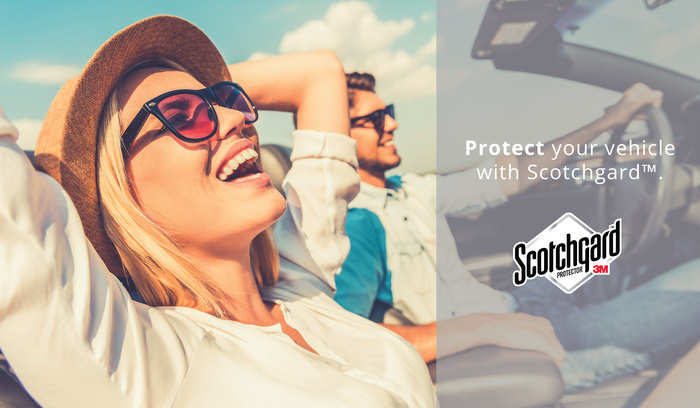 The benefits of Scotchgard protection can keep your car looking like new.