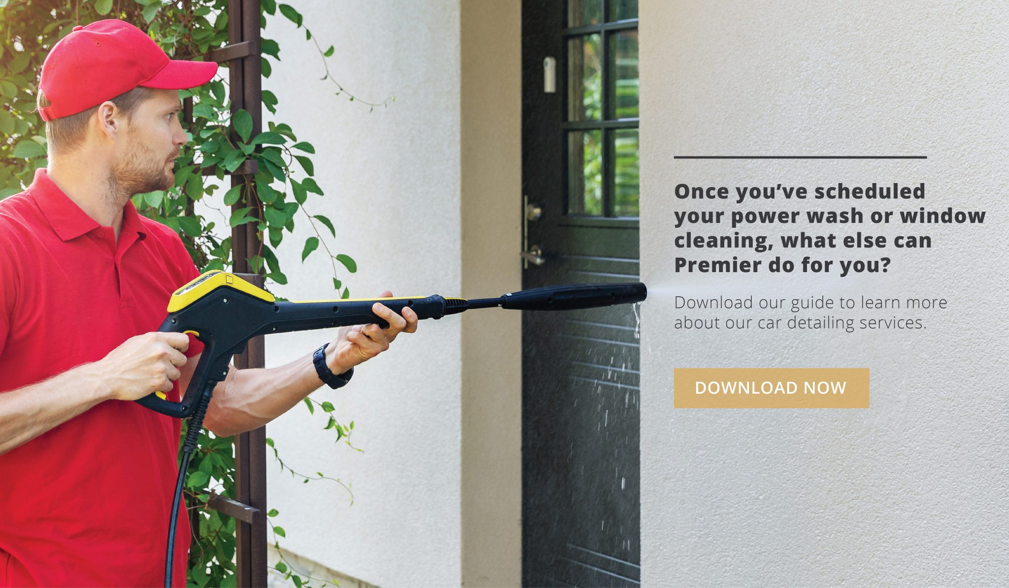There are a variety of reasons to get professional power washing and window cleaning with Premier.
